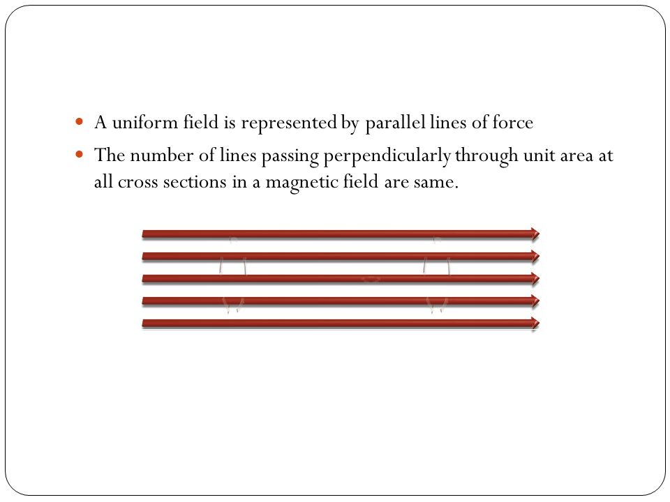 Magnetic field lines can be represented by crosses or by dotted circles x x x x x x x Magnetic field lines enter the pages perpendicularly Magnetic fi