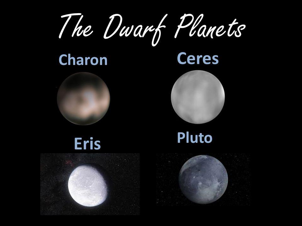 The Dwarf Planets Charon Ceres Eris Pluto