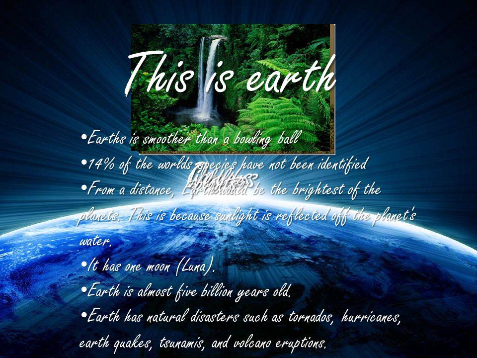 Earth's Oceans The Arctic Ocean The Pacific Ocean The Indian Ocean The Southern Ocean The Pacific Ocean