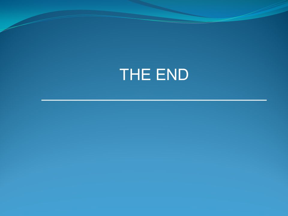 THE END ____________________________