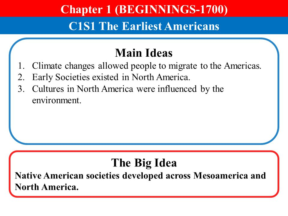 C3S1 The Revolution Begins Main Ideas 1.The First Continental Congress demanded certain rights from Great Britain.