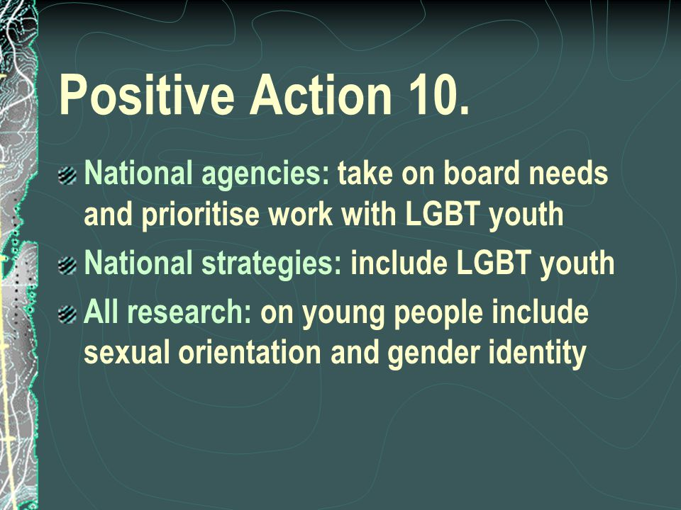 Positive Action 10.