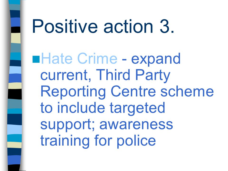 Positive action 3.