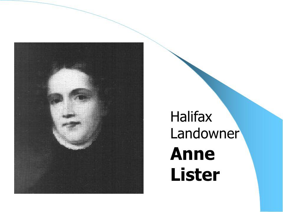 Anne Lister Halifax Landowner