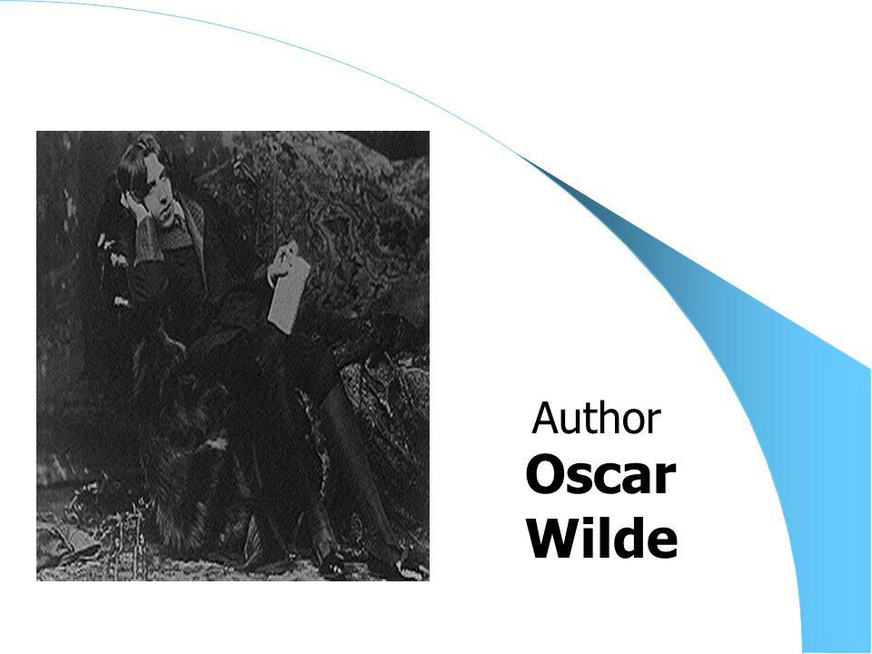 Oscar Wilde Author