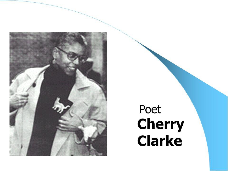 Cherry Clarke Poet