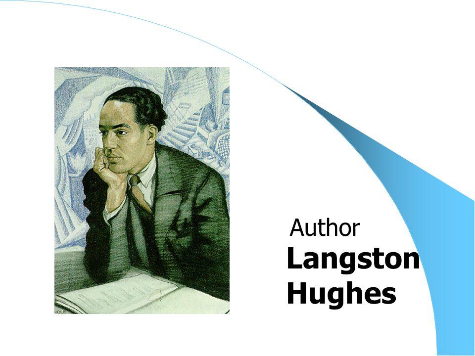 Langston Hughes Author