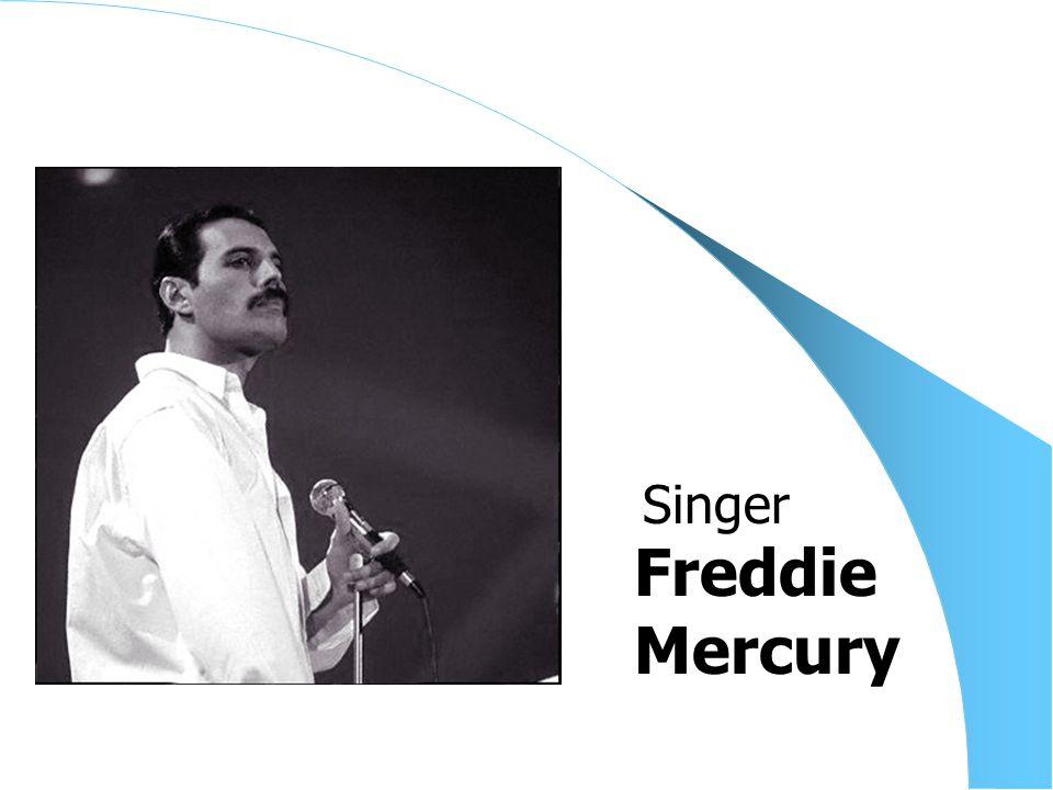 Freddie Mercury Singer