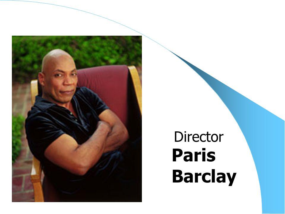 Paris Barclay Director