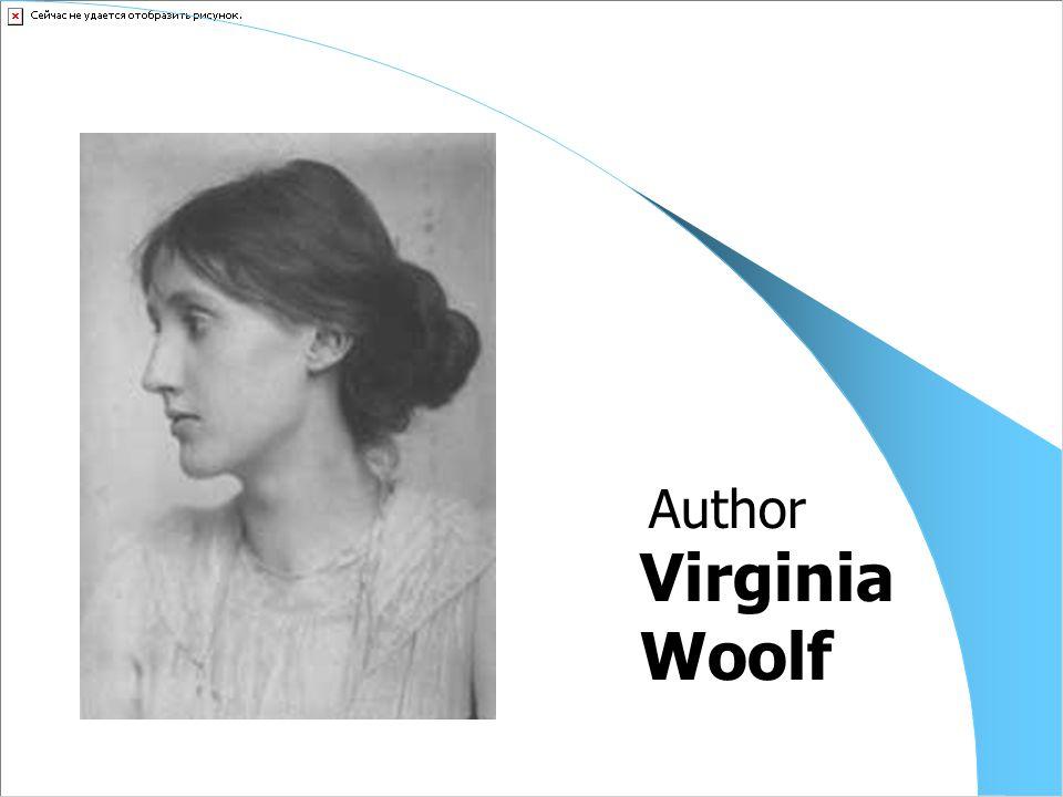 Virginia Woolf Author