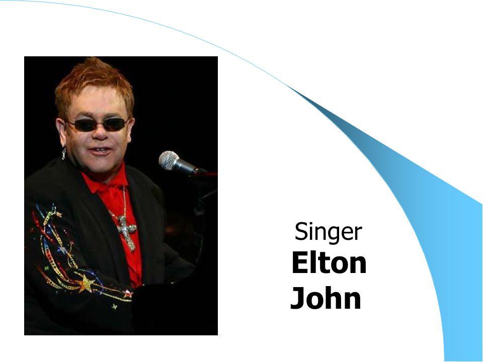 Elton John Singer