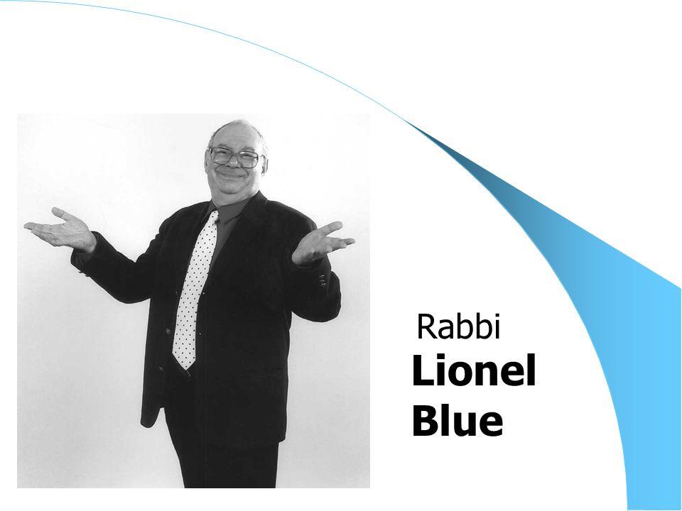 Lionel Blue Rabbi