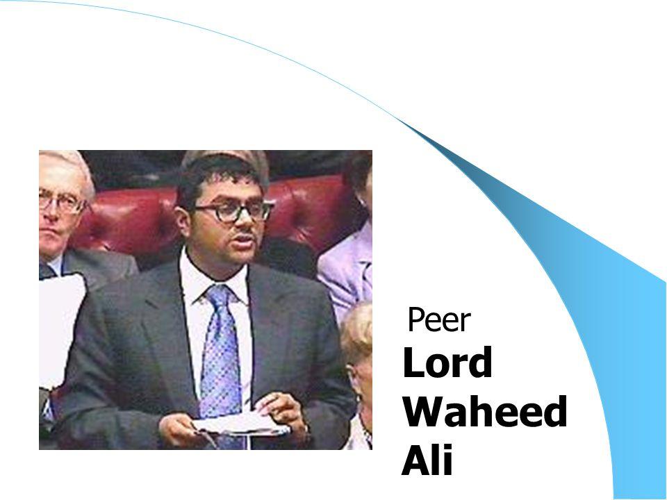 Lord Waheed Ali Peer