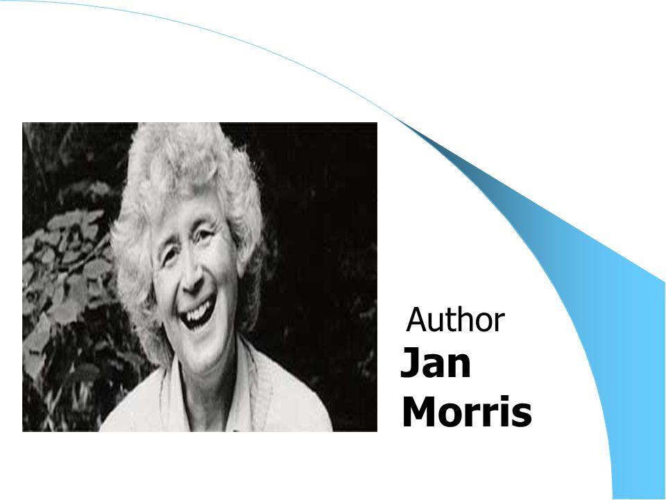 Jan Morris Author