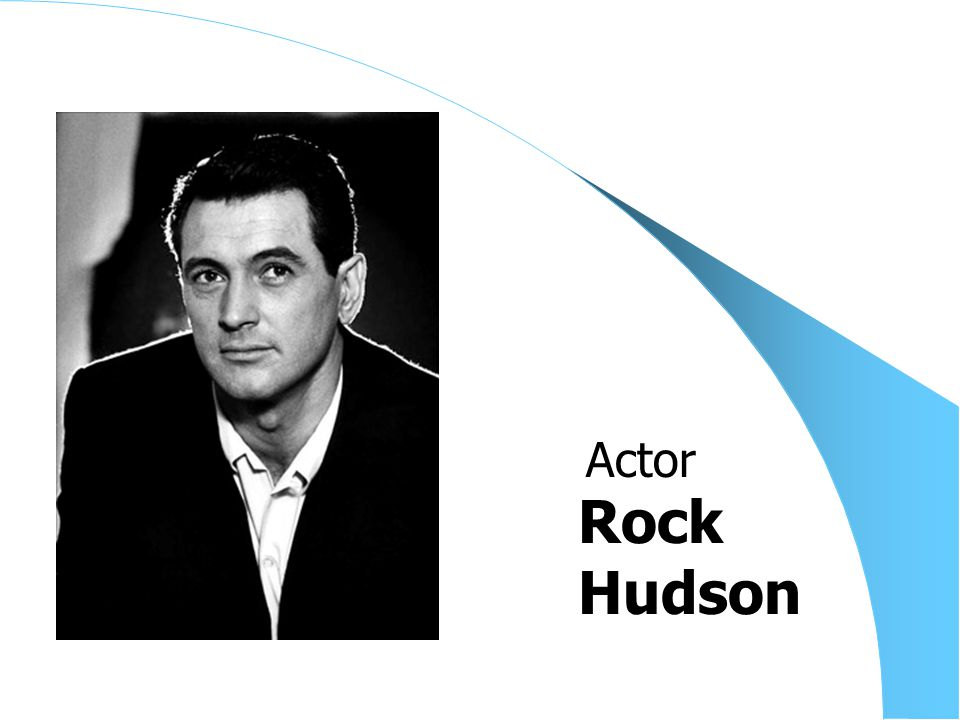 Rock Hudson Actor