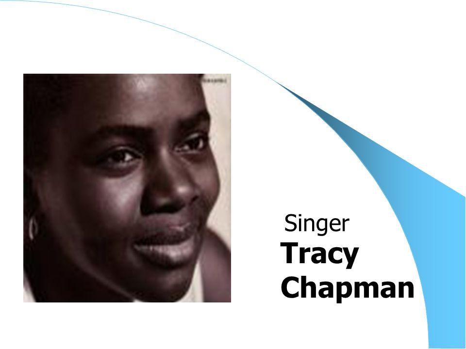 Tracy Chapman Singer