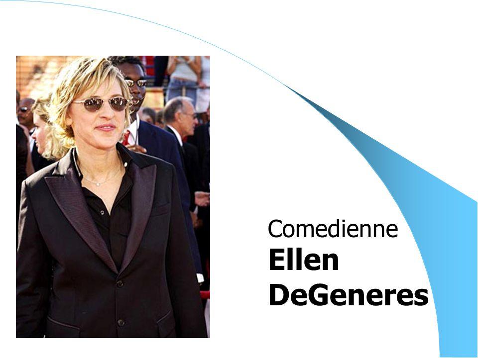 Ellen DeGeneres Comedienne
