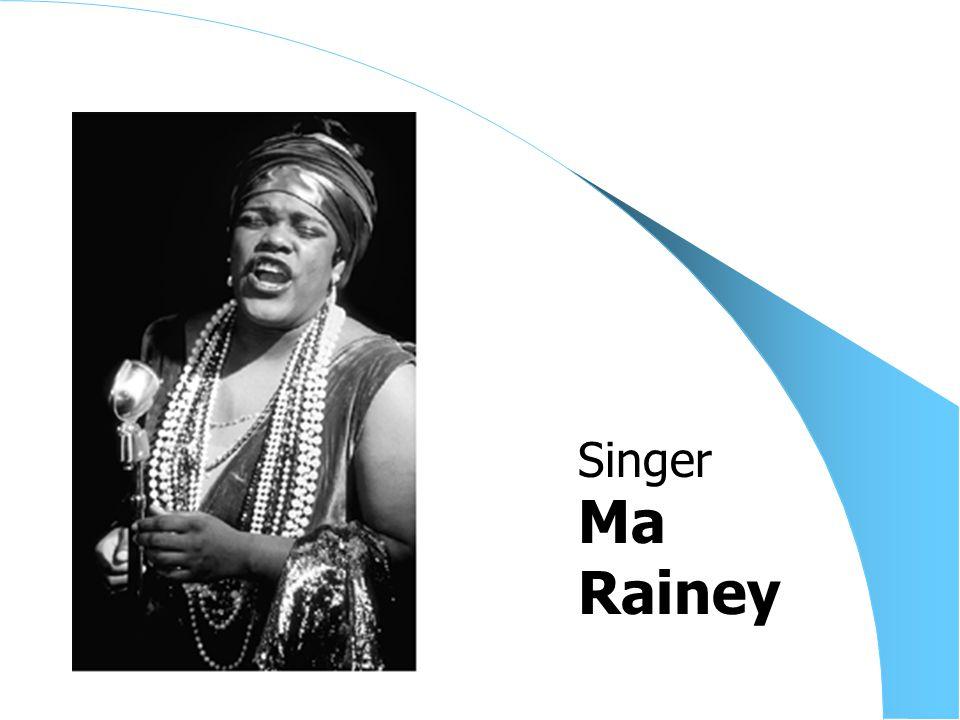 Ma Rainey Singer