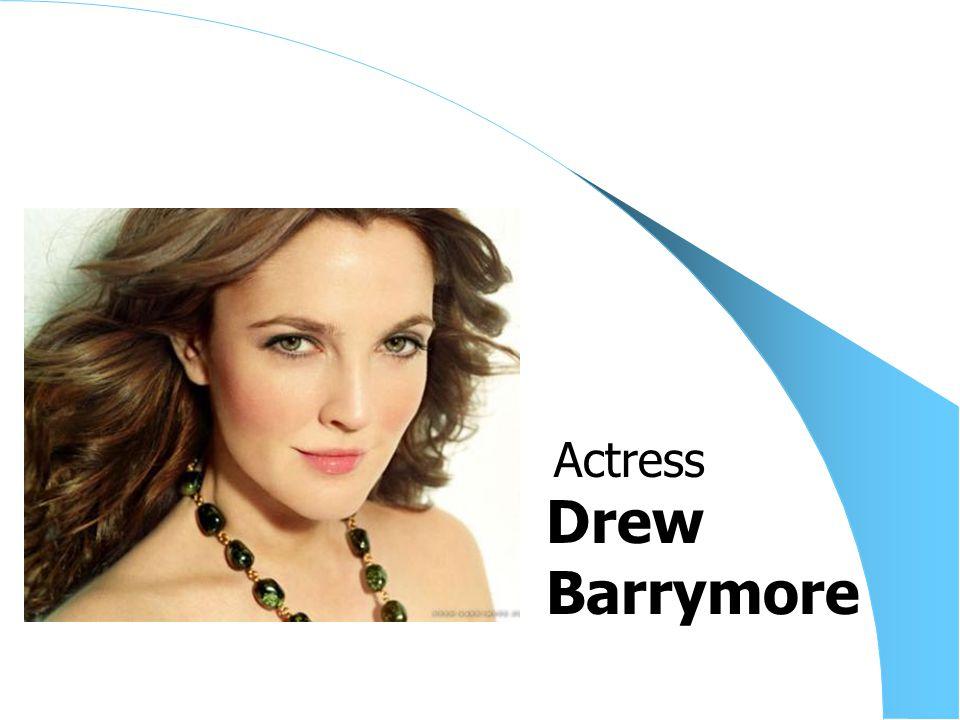 Drew Barrymore Actress