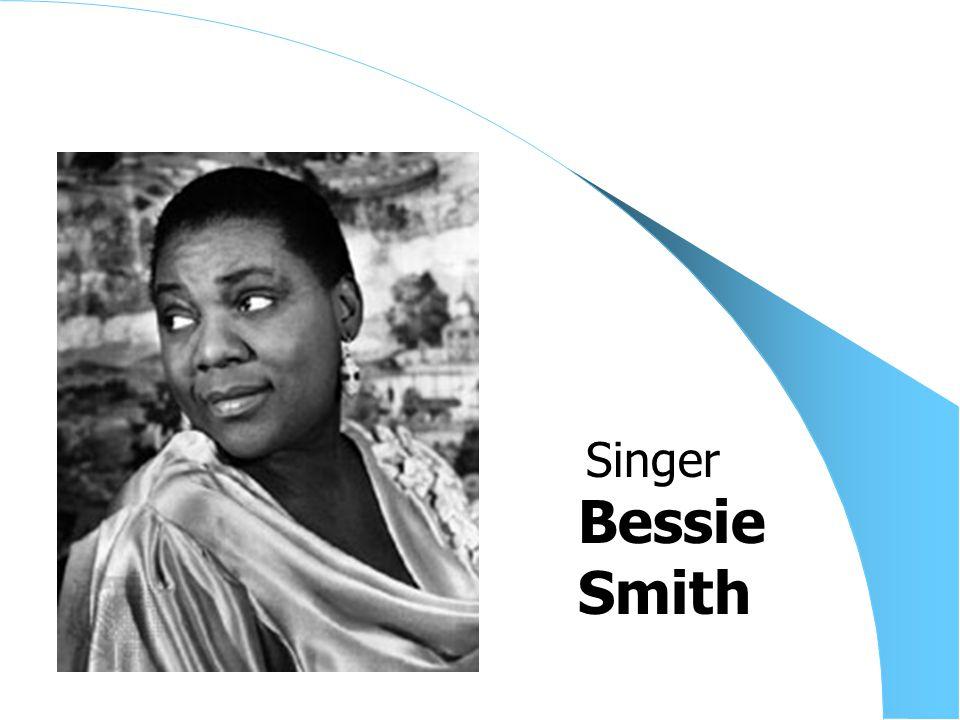 Bessie Smith Singer