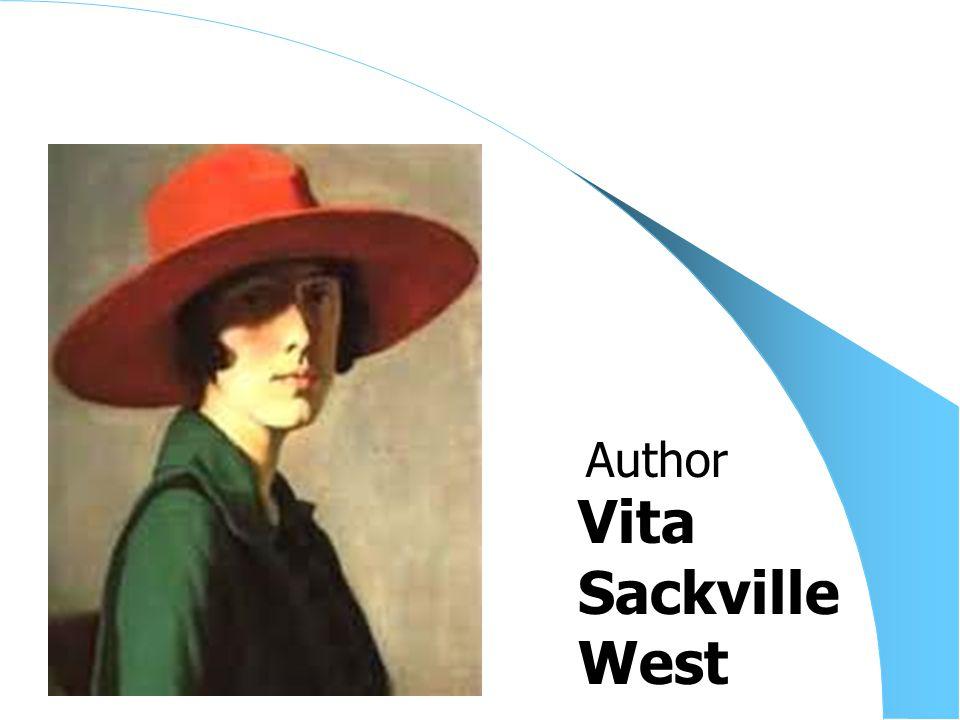 Vita Sackville West Author