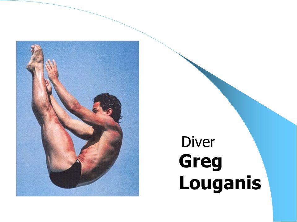 Greg Louganis Diver