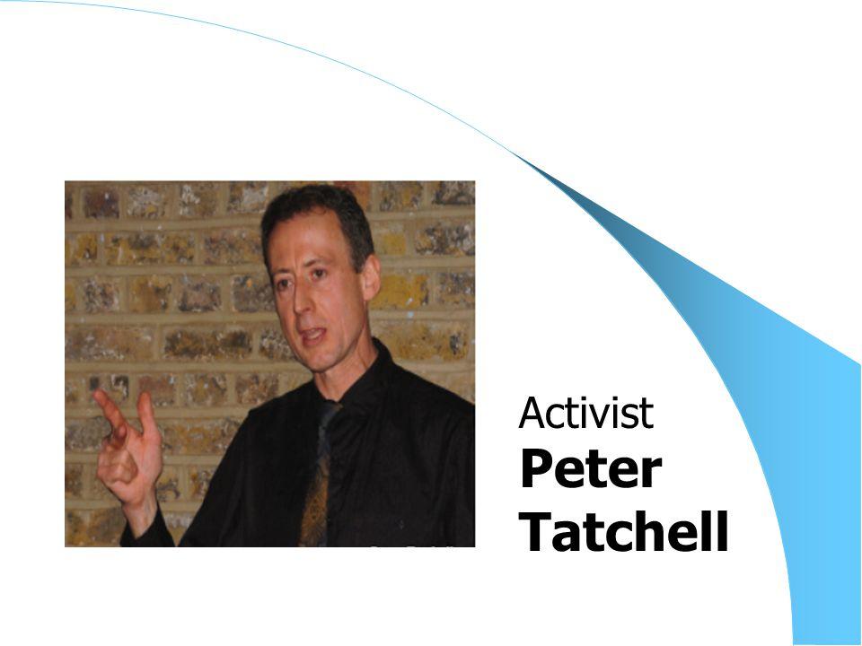 Peter Tatchell Activist