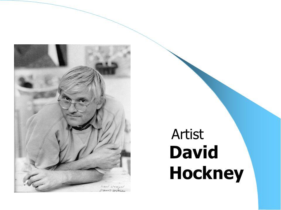 David Hockney Artist