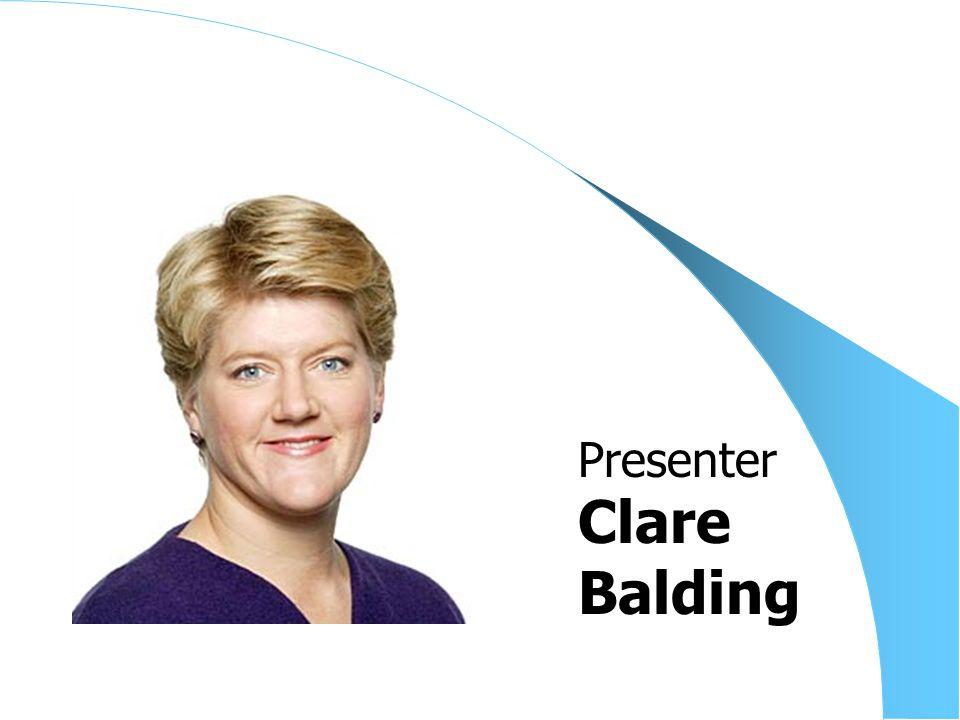 Clare Balding Presenter