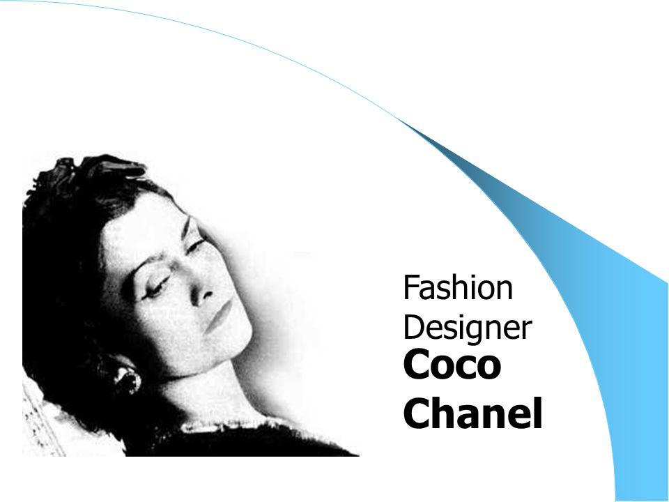 Coco Chanel Fashion Designer
