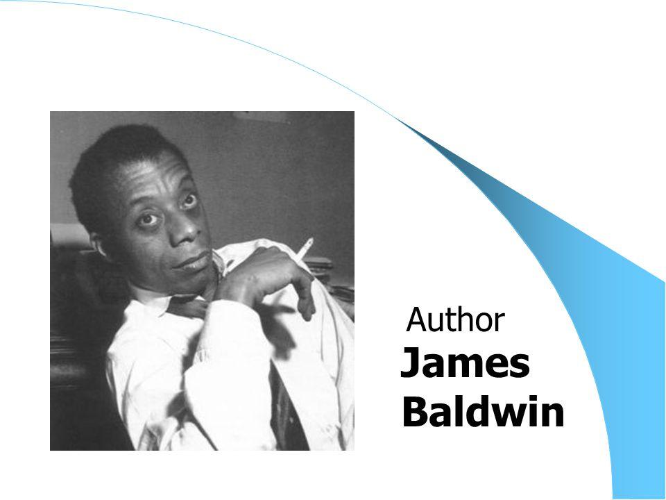 James Baldwin Author