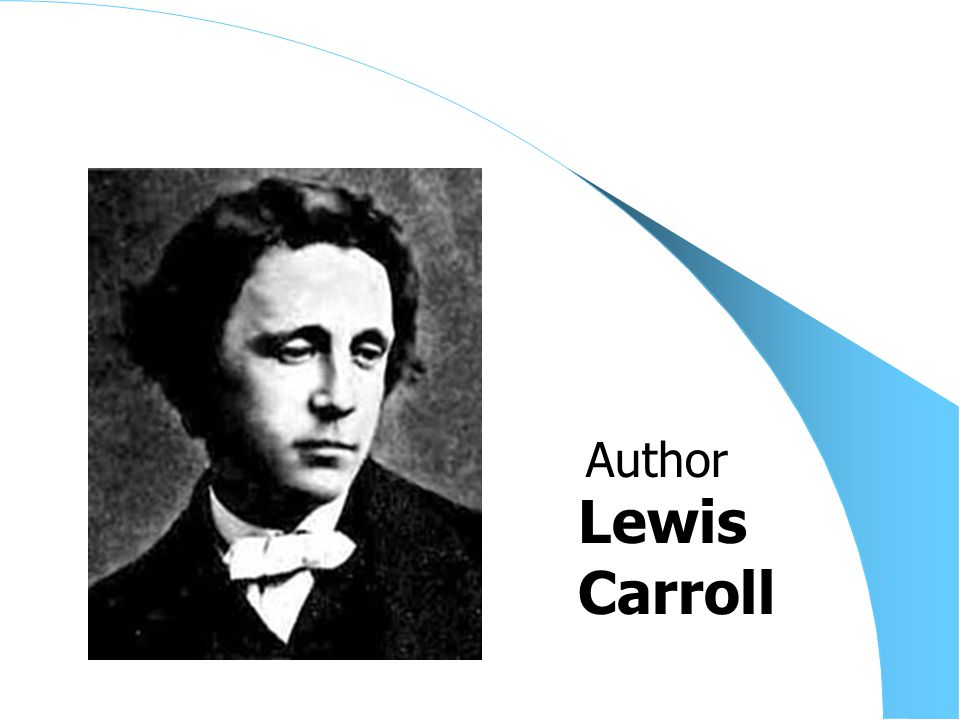 Lewis Carroll Author