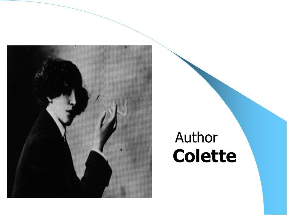 Colette Author