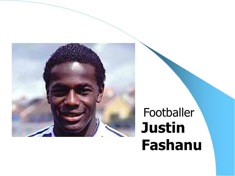 Justin Fashanu Footballer
