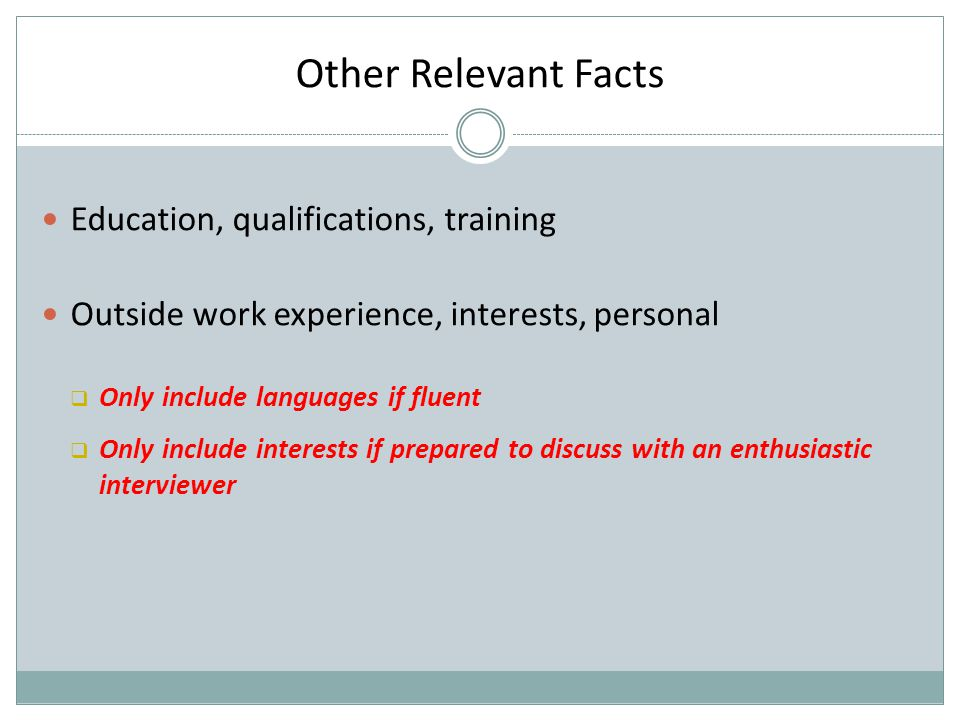 Example Key Achievement with Action Words To ease the workload…..