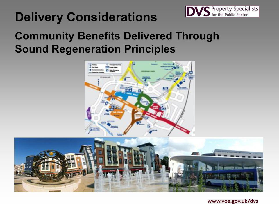 Community Benefits Delivered Through Sound Regeneration Principles Delivery Considerations