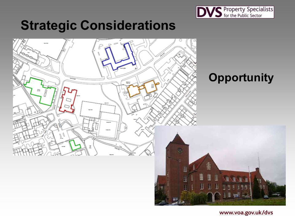 Vision What is the opportunity? Strategic Considerations