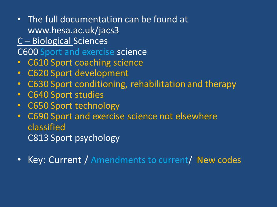 N – Business and Administrative studies N800 Hospitality, leisure, sport, tourism & transport N870 Recreation, sport & leisure studies N880 Sport management