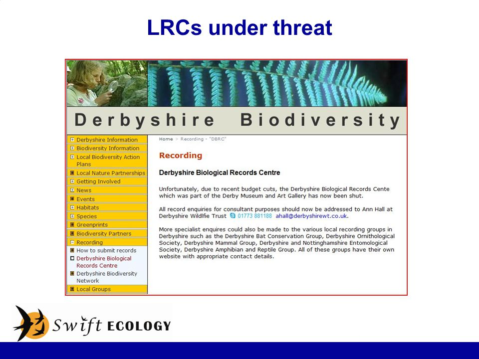 LRCs under threat