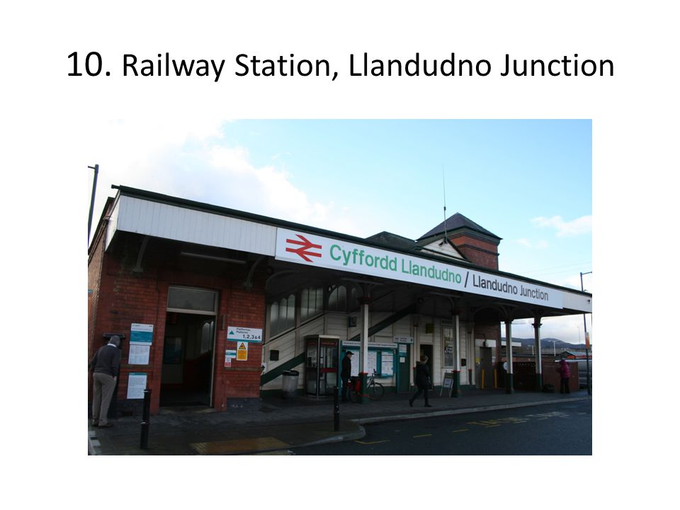 10. Railway Station, Llandudno Junction