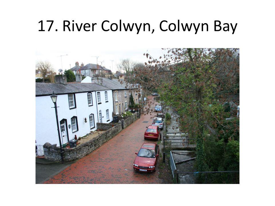 17. River Colwyn, Colwyn Bay