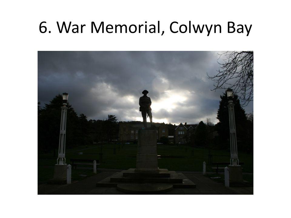16.Anchor floral display, Colwyn Bay