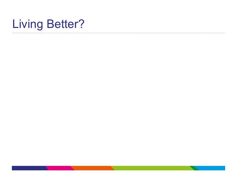 Living Better?