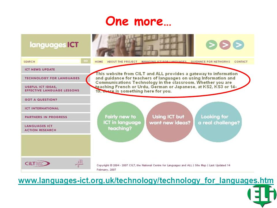 www.ict4lt.org A great website for LT!!!