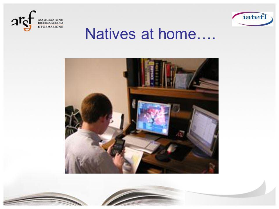 Natives at home….
