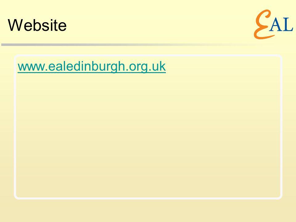 Website www.ealedinburgh.org.uk