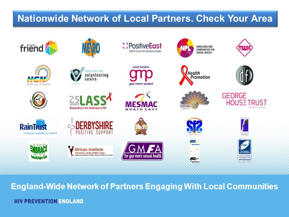 England-Wide Network of Partners Engaging With Local Communities Nationwide Network of Local Partners. Check Your Area