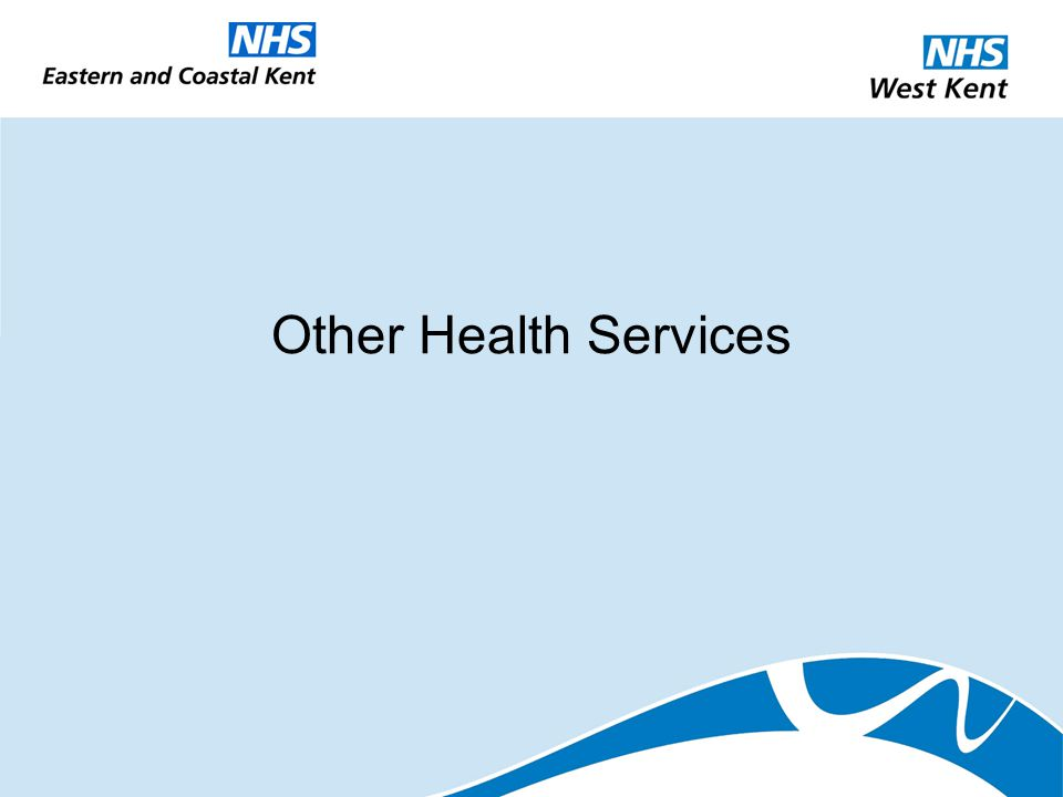 Other Health Services