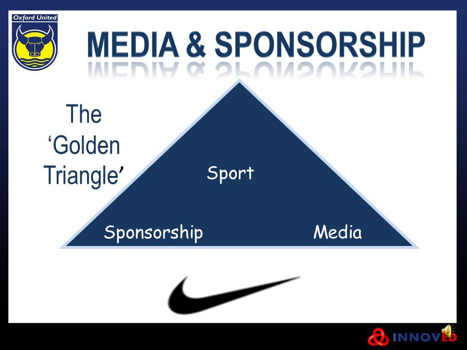 The 'Golden Triangle ' Sport Sponsorship Media