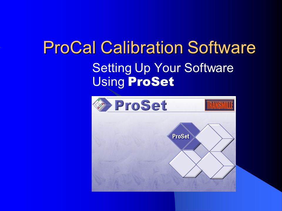 ProSet supports the use of dedicated label printers.